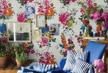 Kwiaty na ściany