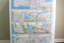 Decoupage maps