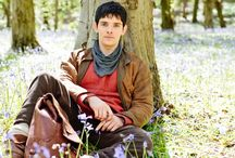 Merlin / I had heard about Merlin on Pinterest, and I knew that some of my friends liked it, so I decided to see if any episodes were on YouTube. Short story made even shorter, I'm pretty sure every single episode is. I fell in love with the show immediately and now I am making it my mission to watch all five seasons. Woo-hoo!