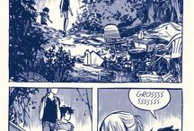 Well-Designed Comic Pages / Uses grid, rule of thirds. Leads the eye through the page.