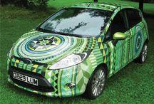 Wrap car