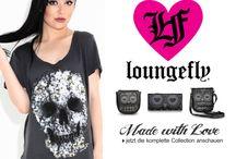 Loungefly / Skull Shopper Taschen & Geldbörsen des bekannten US Kultlabel