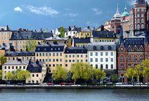 Places I'd Like to Go / London, Italy, Mediterranian Cruise, Sweeden, Portland, Oregan