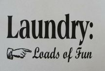 Laundry Room! / by Mindi Jones