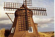 Wind- und Wassermühlen