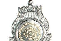 Gümüş Kolye Ucu- Silver Pendant