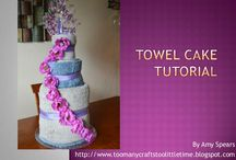 DIY - Towel and Diper Cakes