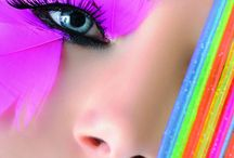 Rainbow - coloured / Items that multicoloured / by Julie Richards