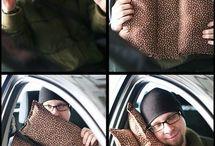 Подушка для машины
