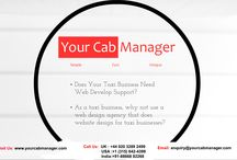Taxi Business Website Development / An Idea to give a simplified website designing and development with a perfect touch of focused UI for Cab Businesses in United Kingdom and make complete Cab Management System for them.
