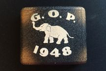 Political Collectibles, Vintage / by Amy Jo