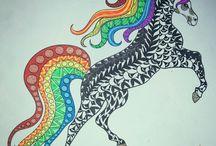 Mis libros de colores