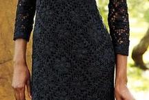 платье кручком