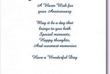 Wedding anniversary verse