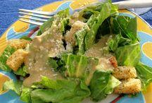 Salads/dressings / by Jenny Bingham
