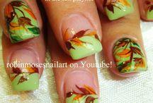 podzimní nehty