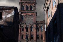 Zniszczone budynki