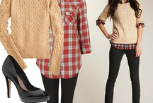 Winter Wardrobe Ideas for Women / Ideas for what to wear for a photo session (women).
