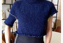 knitting / kötött felsők, kardigánok ponchok