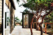 Træ terrasser
