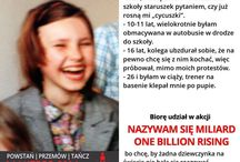 One Billion Rising Poland / #NazywamSięMiliard, #OneBillionRising, #Poland