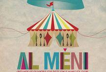 Al Meni - Comunicazione / Immagini che presentano l'evento e i suoi protagonisti