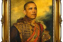 Celebrity Military Portraits by Replaceface