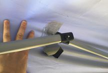DYI Pop-Up Awning Saver / Due to wind and other factors the awning gets worn and starts to rip. Here's an idea how you might be able to protect your awning to last longer.
