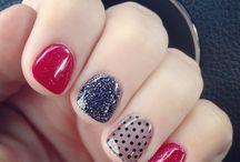 beautiful nails and toes