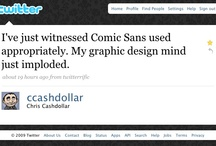 Say NO to Comic Sans / Comic Sans