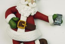 Handmade figurines (edible and non edible) / (edible and non edible) fondant and clay / by Lisa Eaton