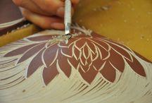 Handmade Ceramic Tiles / Ceramic porcelain handmade tile from a small Vermont studio