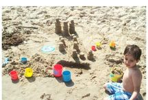 Beach Activities / Things to entertain the whole family while at the beach!
