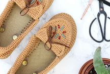 Crochet maccasins