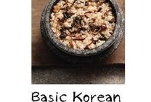 All that Korean food / It's all about Korean food