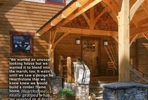 Hearthstone Log Homes / The creation of an extraordinary custom home is a way of life with us. We are blessed with an unmatched ability to create any imaginable style of custom, luxury, hand crafted log or heavy timber home or commercial structure. Nobody in the world has the reputation, capacity and experience — in one company — to deliver and guarantee the diversity, creativity, and quality that we can.