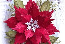 Cards - with a Poinsettia / by Bonnie Brang