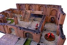Modular Underground Project / High quality modular dungeon system made in high quality plastic.