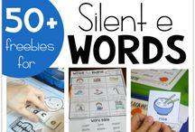 Silent E Words