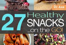 Healthy snacks / by Mara Nicandro LMT, NMT, MMT, NKT®, HLC1, Nctmb