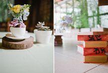 Mesas de Convidados / Ideias de decoração para as mesas de convidados.  www.meiodomato.com.br