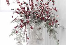 Candy cane decoration / Arrangements
