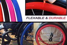 RibGrips Wheelchair Handrims - Push rims