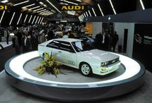 Audi Quattro and the competition on road and track