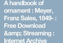 4.2. WZORY: A handbook of ornament, Franz Sales Meyer