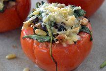 Eten / Gevulde tomaat