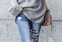 Sweaters and Ponchos / Women's sweaters, ponchos, oversized sweaters and cardigans. Fashion knitwear outfits.