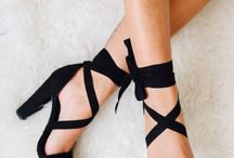 одетые ноги