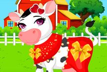 Klara The Cow Dress Up App. / Koolamundo will be bringing out a Klara The Cow Dress Up Game (app) this August.  So everyone can have fun dressing up Klara with accessories and clothes. #itsakoolwold