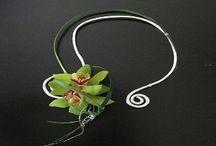 biżuteria kwiatowa